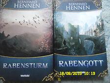 2 Bände Edtion Anderswelt Rabensturm,Rabengott