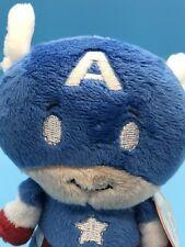 Hallmark Itty Bittys Biggy—-Captain America Marvel Plush Toy cap avengers Steve