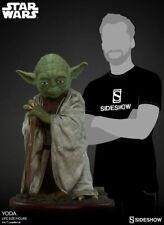 Sideshow star Wars Yoda a Grandezza Naturale 1:1 Scala Figura Statua Nuovo
