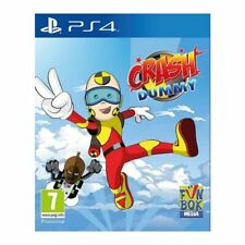 Crash Dummy (PS4)  NEW AND SEALED - IN STOCK - FREE POSTAGE - QUICK DISPATCH