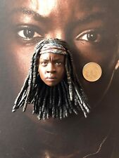 ThreeZero The Walking Dead TWD Michonne Head Sculpt loose 1/6th scale