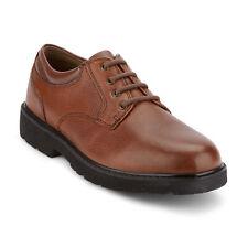 Dockers para Hombre de Cuero Genuino refugio Resistente Zapatos Oxford Informales con Cordones