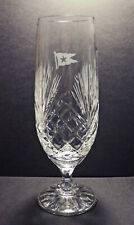 White Star Line, RMS Titanic, Hand Cut Pilsner Beer Glass, 1912 Style Replica