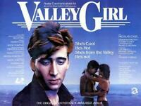 Valley Girl Movie POSTER 11 x 17 Nicolas Cage, Deborah Foreman, A