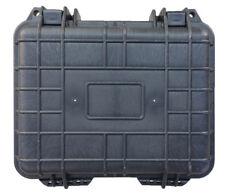 "10"" Hard Shell Case for Guns, DSLRS, Gopros W/Pelican 1200 Style Pluck Foam NEW"