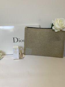 Christian Dior Gold Net Trousse Makeup Zip Pouch Jadore In Joy EDT Perfume