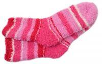 HUE Womens Super Soft COZY Socks Pink Stripe One Size $10 - NWT