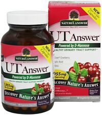 UT Answer with D-Mannose, Nature's Answer, 90 capsule