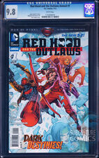 RED HOOD AND THE OUTLAWS ANNUAL #1 - CGC 9.8 - SOLD OUT FIRST PRINT EDITION