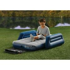 Kids Camping Airbed With Travel Bag; Use Outdoors or Sleep Over; Comfy + Durable