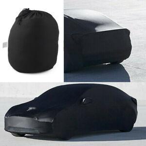 For Tesla Model 3 X S Car Cover Windproof Adjustable AMA UV-Resistant Cloth