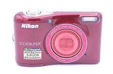 Nikon COOLPIX L30 20.1 MP Digital Camera - Red