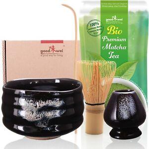 "Deluxe Matcha-Set ""Burashi"" mit 30g Premium Bio-Matcha"
