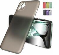 iPhone Full Back Cover Hardcase ultra thin 0,35 mm Case Hülle Etui extrem dünn