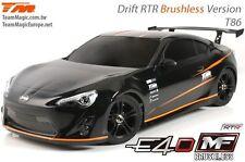 Team Magic E4D-MF T86 Drift Wettbewerbs Brushless RTR Tourenwagen - TM503018-T86