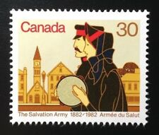 Canada #954 MNH, Salvation Army Volunteers Centenary Stamp 1982