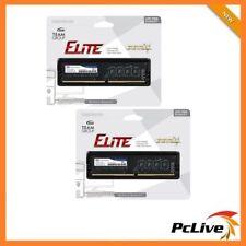 Team Elite 16GB DDR4 2400 Mhz Memory High Performance 2x 8GB RAM Desktop 19200