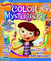 Scientific Explorer Color Mysteries Science Project Kit Lab Ages 5+ New Toy Gift