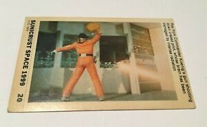SPACE 1999  - SUNICRUST Card #20 Gerry Anderson RARE IN UK Made in Australia