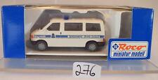 Roco 1/87 No. 2490 VW Volkswagen T4 Bus Polizei Gendarmerie Luxemburg OVP #276
