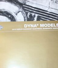 2010 Harley Davidson DYNA MODELS Electrical Diagnostic Service Shop Manual NEW