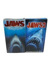 JAWS 1 & 2 -  VHS LOT - 1975 1978  Collectors Edition & Special Edition