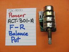 PIONEER ACT-301-A BALANCE POT 500K x4 QX-8000 QUAD STEREO RECEIVER