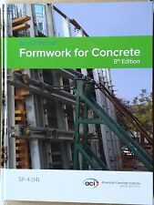 Formwork for Concrete by David W. Johnston and ACI Committee 347 [Hardcover]