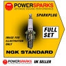 VW BEETLE 1.6 12.7mm Reach Plugs 60-01/78 AIR COOLED NGK SPARK PLUGS x 4 B5HS