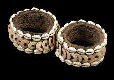 Paire de brassards, pair of armbands, oceanic tribal art
