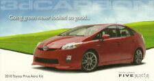 2010 3dCarbon Toyota Prius Aero Kit SEMA Show Promo info card