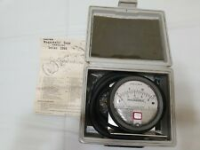 Dwyer Magnehelic Gauge Inches Of Water Series 2000 W/ Manual