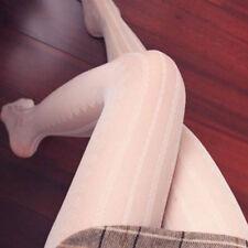 Encaje Vintage japonés Mori niña Lolita Dulce A Rayas Pantis & Mallas Harajuku #K