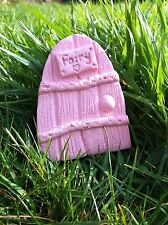 Calmay Pink Fairy Door - create your own fairy garden