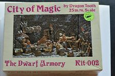 VINTAGE DRAGON TOOTH The Dwarf Armory KIT.002 D&D CITY OF MAGIC figure Dungeon