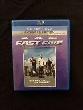 Fast Five Blu ray Dvd, Lot C3.