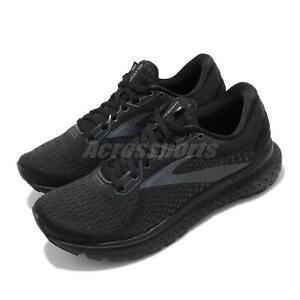 Brooks Glycerin 18 Wide Black Grey Women Cushion Road Running Shoes 1203171D071