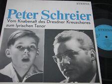 PETER SCHREIER Vom Knabenalt des Dresdner.../ DDR Reissue LP 1990 ETERNA 825619