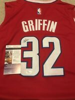 Blake Griffin Signed Autographed Los Angeles Clippers Jersey! Jsa!