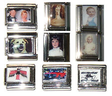 CUSTOM Italian PHOTO Charm/Charms * 9mm * Your Picture