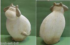 vache stylisée en céramique, collection, animal de la ferme, cow, koe  **T3