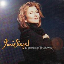 vocal jazz cd JANIS SIEGEL SKETCHES OF BROADWAY