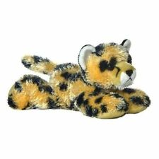 "Aurora Mini Flopsie STREAK Cheetah 8"" Stuffed Plush New 30359"