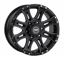 CSA WHEEL 17X8 RAPTOR (MILLED) SATIN BLACK (PCD:6X139.7  OFFSET:P25)