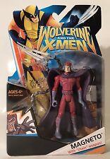 "Marvel Universe Wolverine & The X-Men Magneto 3.75"" Figure Rare Animated Show"