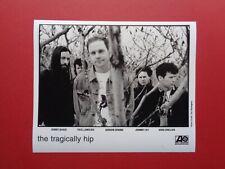 """Tragically Hip.8x10"""" B/W promo photo,Rare Original"""