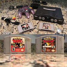 N64 Bundle Pokémon WCW Retro Namco Pac-Man Nintendo