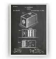 Eastman Kodak Camera 1888 Patent Print - Poster Art Gift Decor - Unframed
