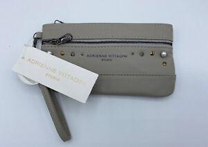Adrienne Vittadini Studio-Two Zip Pocket Wristlet-Bag-RFID Protection- New