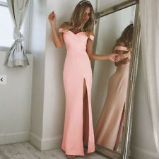 Women Long Formal Prom Dress Cocktail Party Gown Evening Bridesmaid Dress Lady